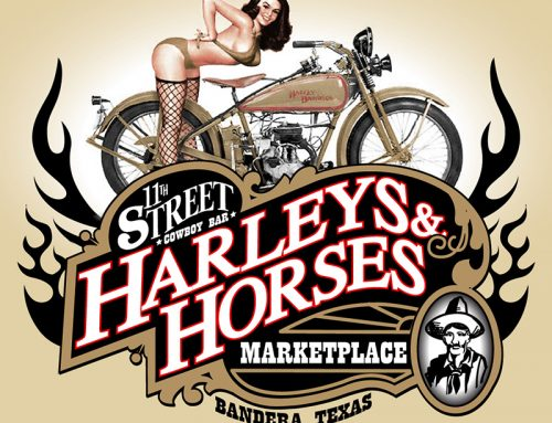 Harleys and Horses
