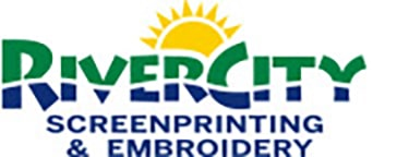 RiverCity Screenprinting & Embroidery in Austin and San Marcos Retina Logo