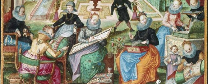 History of Embroidery Painting