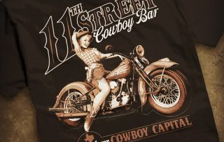 11th Street Cowboy Bar T-shirt