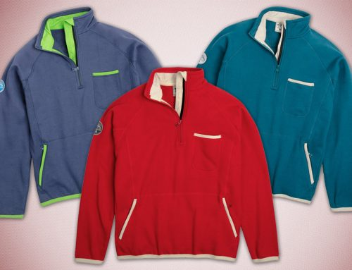 Custom Clothing Quarter Zip Pullover Jacket Various Colors
