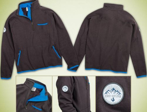 Custom Made Clothing 1/4 Zip Pullover
