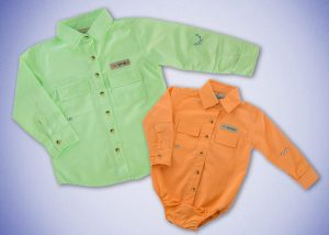 Custom Made Clothing - Fishing Shirts for Toddlers & Babies
